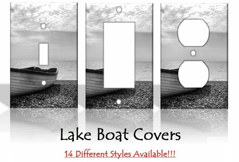 Lake Boat Beach Light Switch Covers Home Decor Outlet Ebay