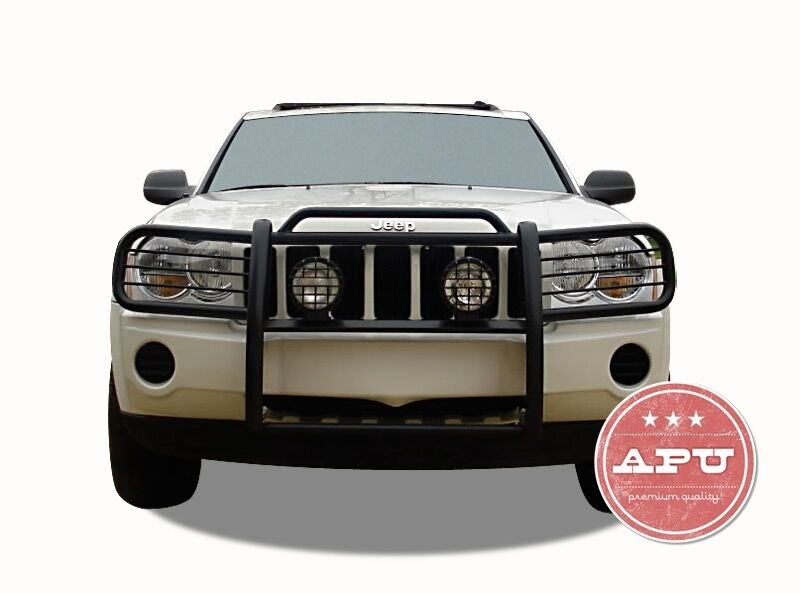 Jeep Grill Guards And Bumpers : Jeep grand cherokee grille grill bumper guard push