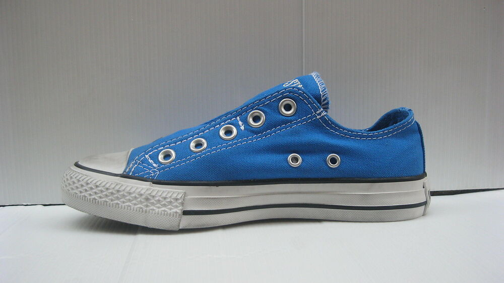 004 CONVERSE SCARPE CT OX CANVAS SLIP ON DONNA SKYDIVER DISTRESSED COD. 133060C