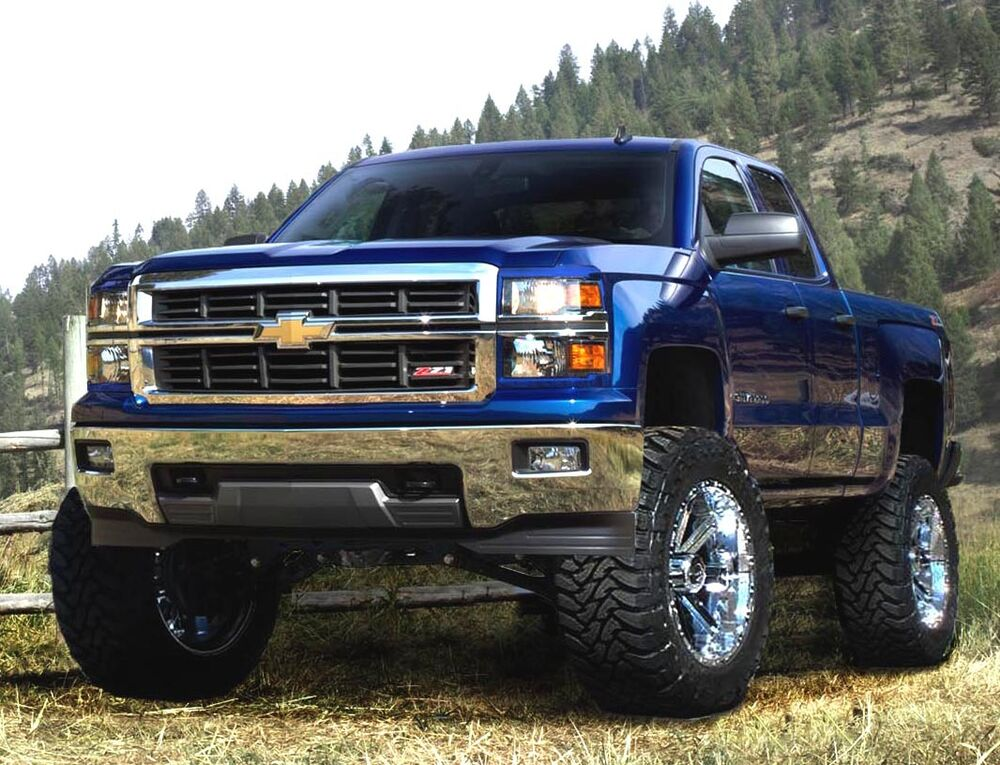 "6 Inch Lift Kit For Chevy 1500 4wd >> McGaughys 50720 7"" Lift Kit 2007-2013 Chevy Silverado GMC ..."