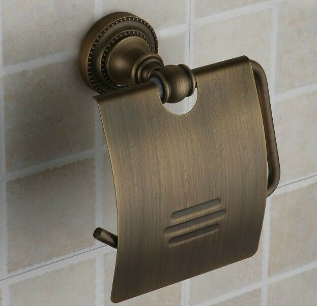 Wall mounted antique brass bathroom toilet paper roll Antique toilet roll holders