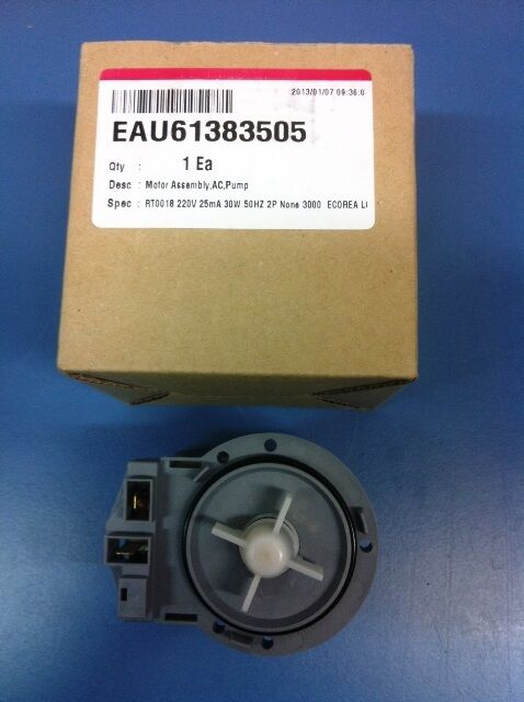 Lg Front Load Washing Machine Motor Assembly Pump Genuine