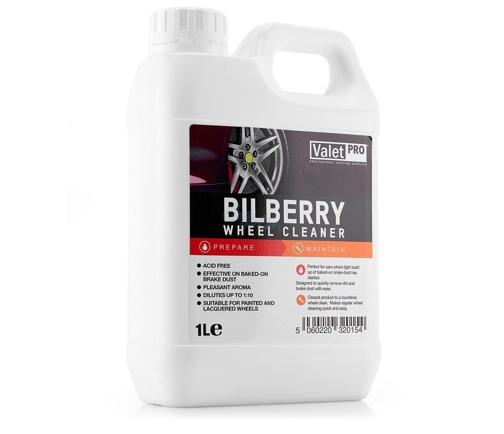 valet pro bilberry wheel cleaner 1litre ebay. Black Bedroom Furniture Sets. Home Design Ideas