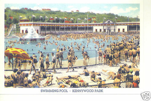 Kennywood park swimming pool pittsburgh pa 2003 ebay - Riverview swimming pool pittsburgh pa ...