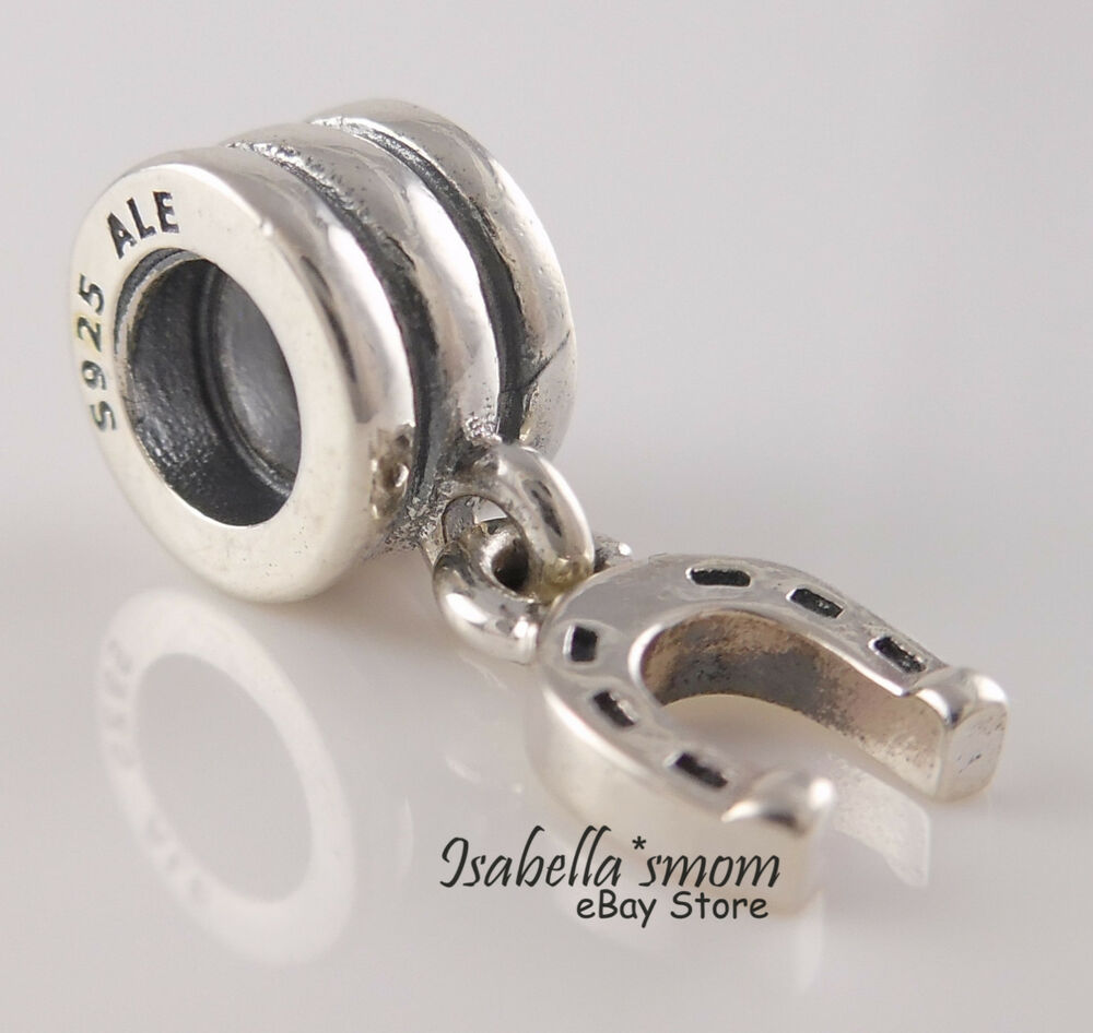 horseshoe 100 authentic pandora silver 925 ale lucky