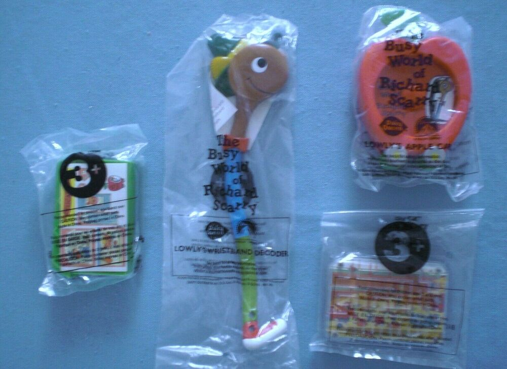Dairy Queen Toys : Dairy queen richard scarry complete set of mip ebay
