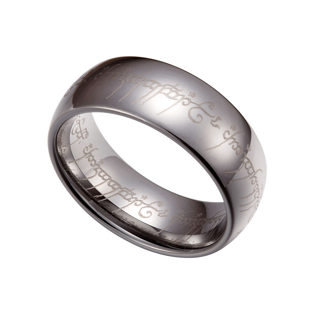 lord of the rings one ring wedding band photos - The One Ring Wedding Band