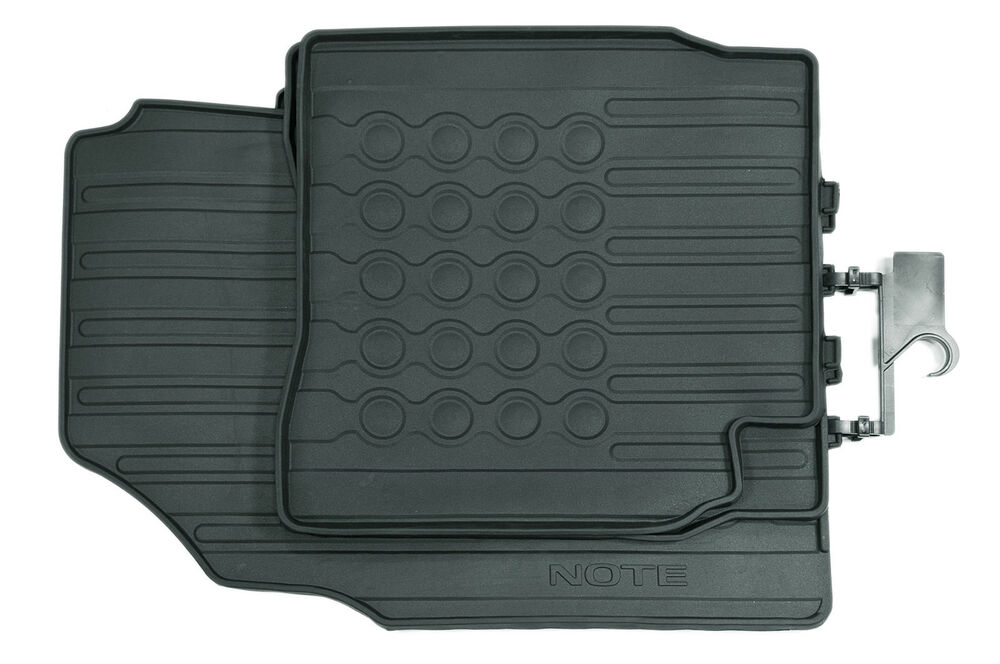 Nissan Note Genuine Car Floor Mats Rubber Tailored Front