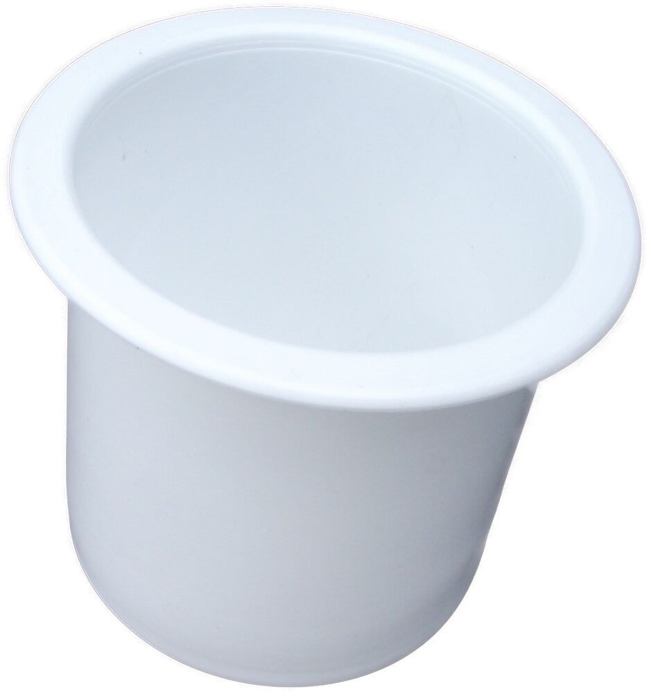 Poker table cup holders plastic