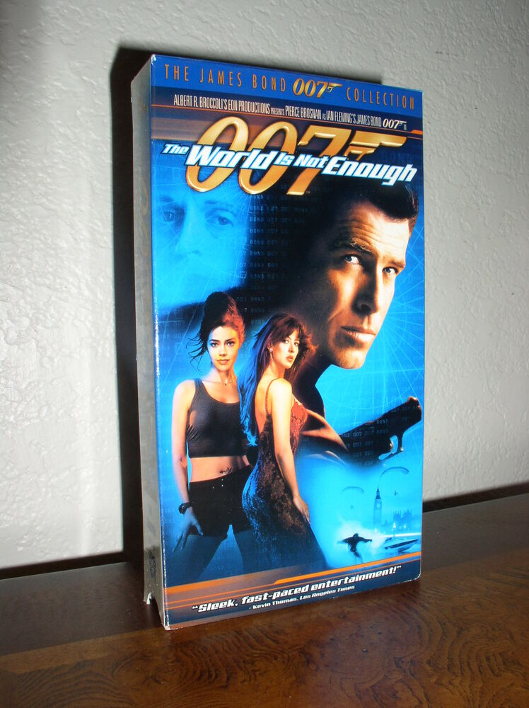 James Bond 007 Collection: The World Is Not Enough (VHS ... The World Is Not Enough Dvd