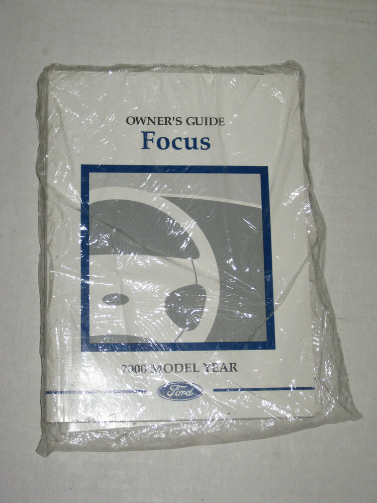 2000 ford focus owners manual user guide reference. Black Bedroom Furniture Sets. Home Design Ideas