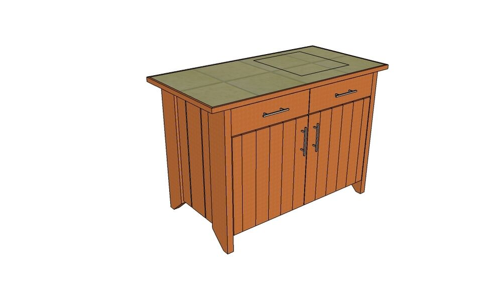 Rustic potting table with storage plans only ebay - Potting table with storage ...