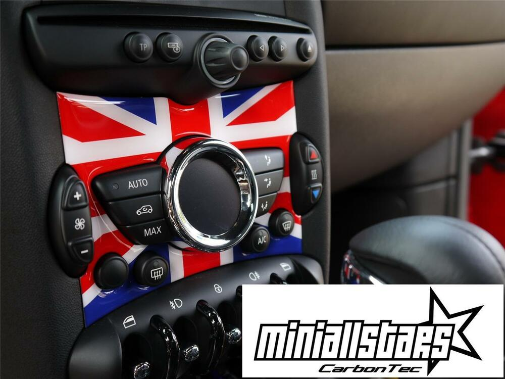 2010 on union jack radio badge bmw mini cooper s r61. Black Bedroom Furniture Sets. Home Design Ideas