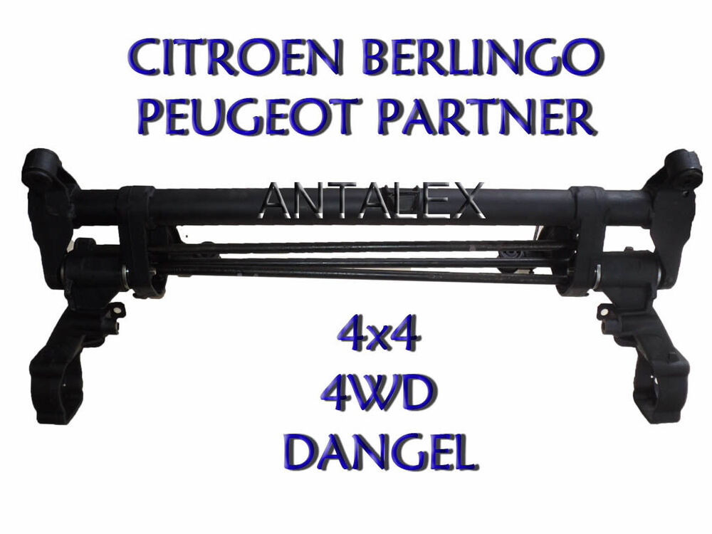 train arri re essieu peugeot partner citroen berlingo 4wd 4x4 dangel ebay. Black Bedroom Furniture Sets. Home Design Ideas