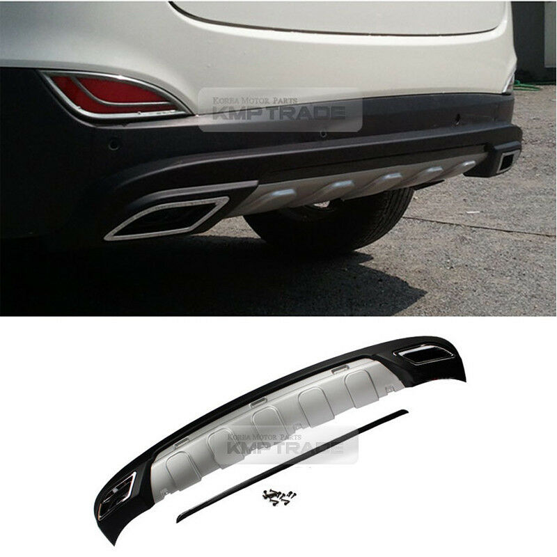 rear bumper diffuser for hyundai 2010 2011 2012 2013 2014. Black Bedroom Furniture Sets. Home Design Ideas