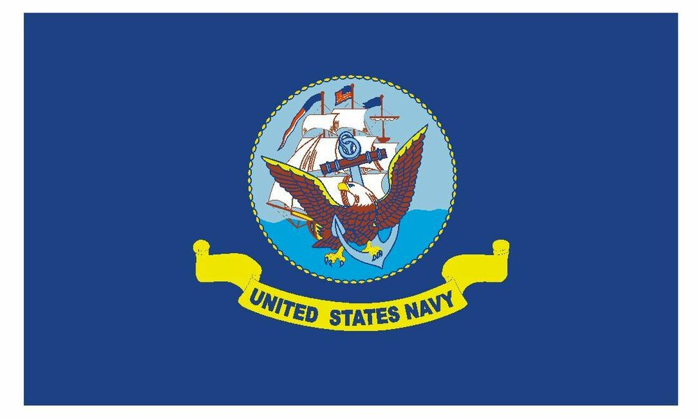 United States Navy Vinyl Military Flag Decal Sticker Made