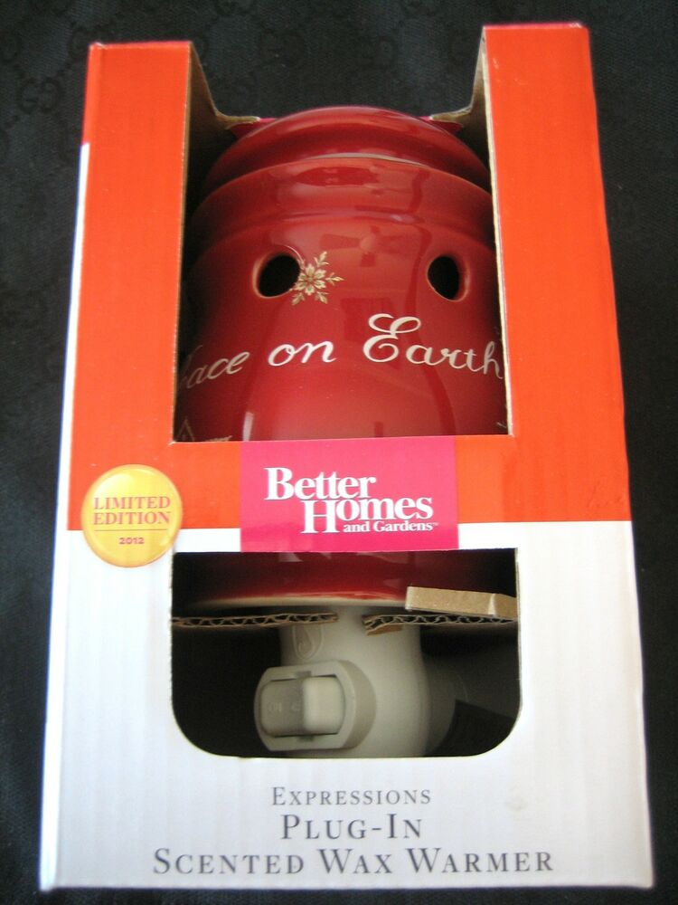 Better Homes And Gardens Plug In Wax Warmer Holiday