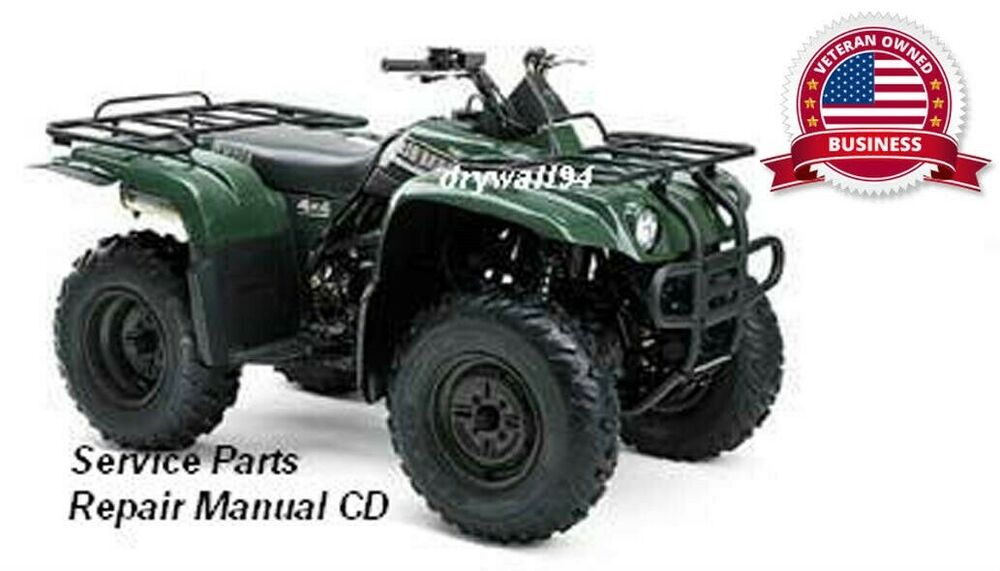 2000 2004 yamaha big bear yfm400 2x4 oem service parts