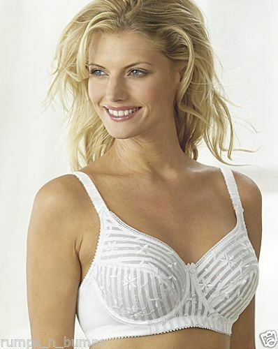 new miss mary of sweden white underwired full cup bra 2781 ebay. Black Bedroom Furniture Sets. Home Design Ideas