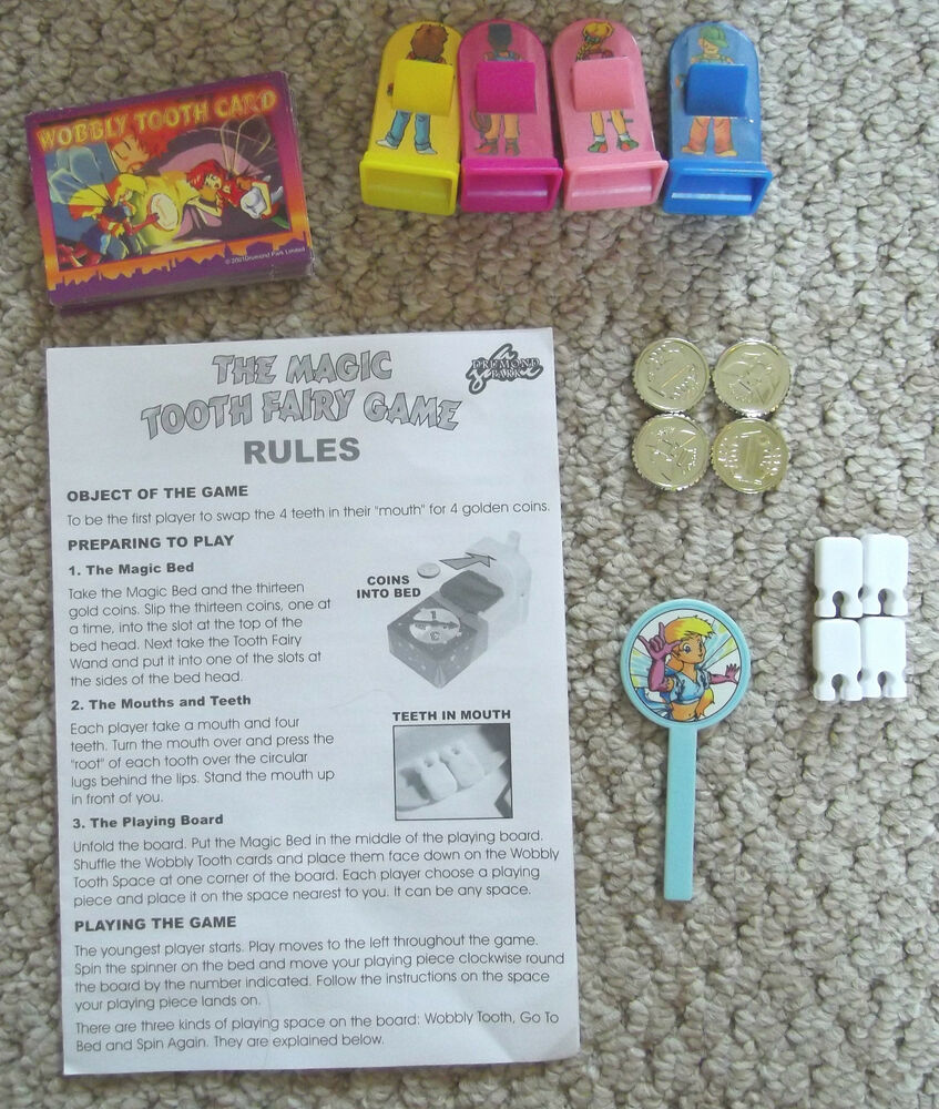 Tooth Fairy Games Learning