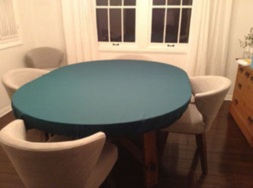 Poker Felt Tablecloth Bonnet Cover For 48 Quot Round Elastic
