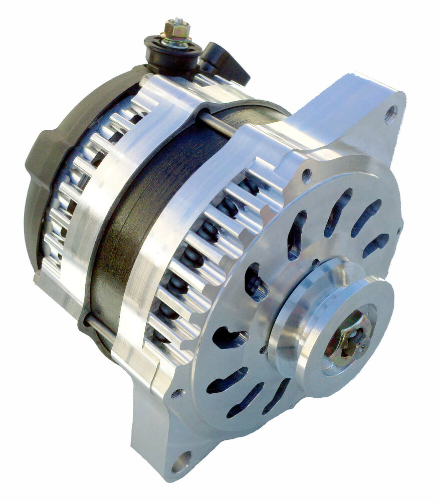 150 Amp Custom Billet Aluminum Hi Output Alternator For Gm 10si 10dn 12si Cs130