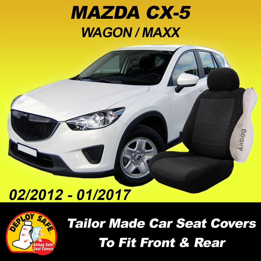 Car Seat Covers To Fit MAZDA CX 5 CX5 KE MAXX WAGON 02