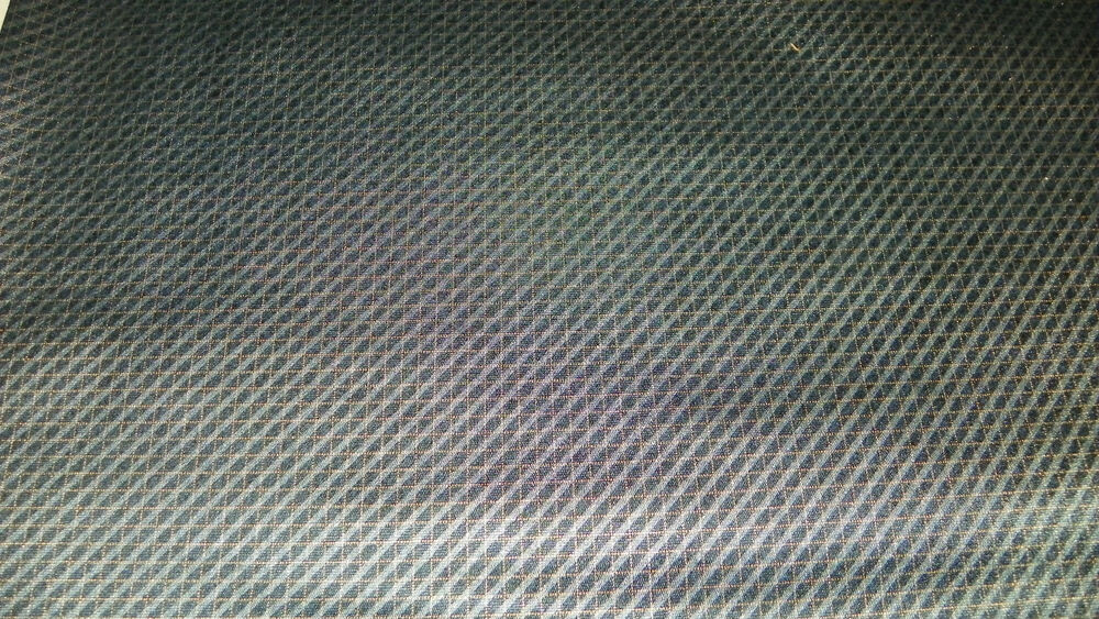 black gold check vinyl upholstery fabric automotive 1 yard ebay. Black Bedroom Furniture Sets. Home Design Ideas