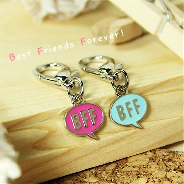 Dog Cat Luxury Cute Collar Charm Bff Best Friends Forever