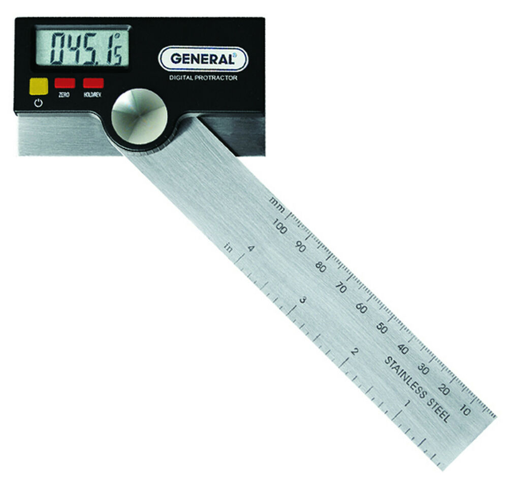 Led Digital Electronic Protractor Bevel Angle Gage Tool