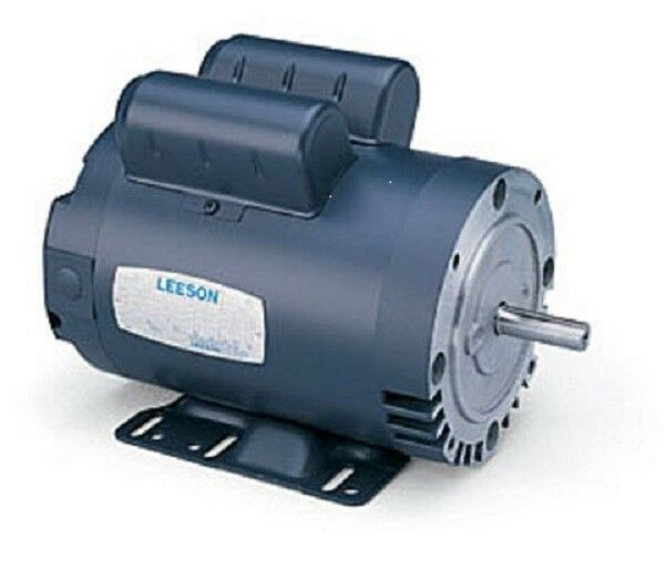 Leeson 116709 High Pressure Washer Motor 5 Hp 3450 Rpm