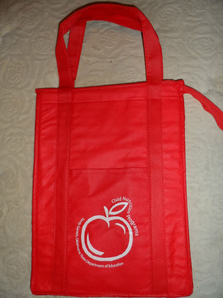 Recyclable Keep Cool Insulated Grocery Cooler Tote Bag 4