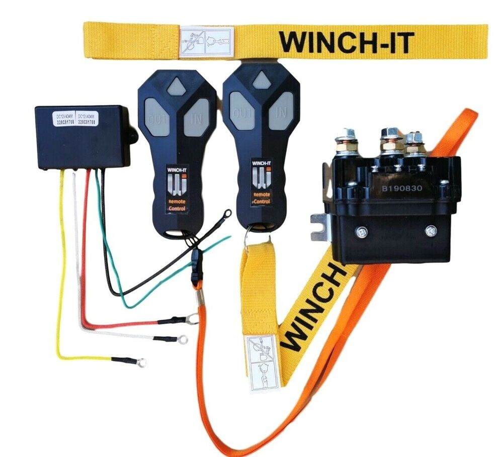 Motor Remote Controller And Contactor Winch Www Reversing For Coralhome 12v Hd Solenoid Wireless