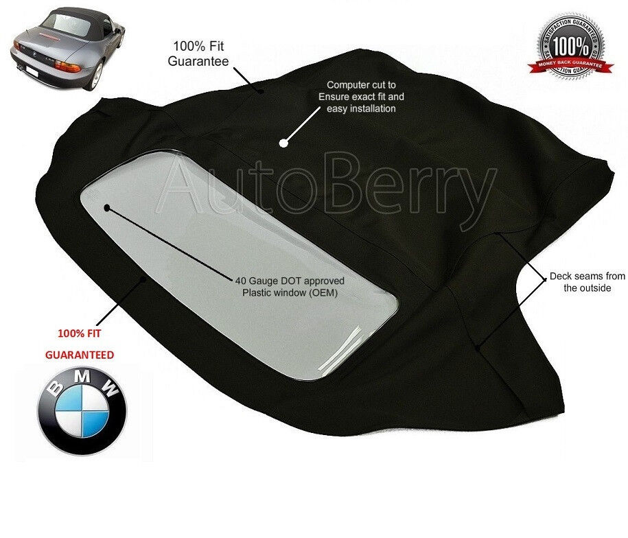 Bmw Z3 Seat Covers: BMW Z3 Convertible Soft Top Replacement 1996-2002 (E37