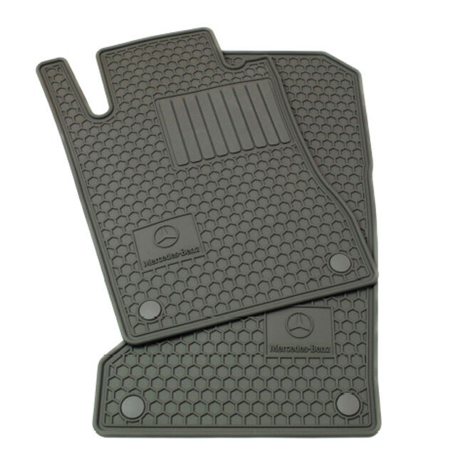 oem genuine mercedes benz gray all season floor mats 07 13