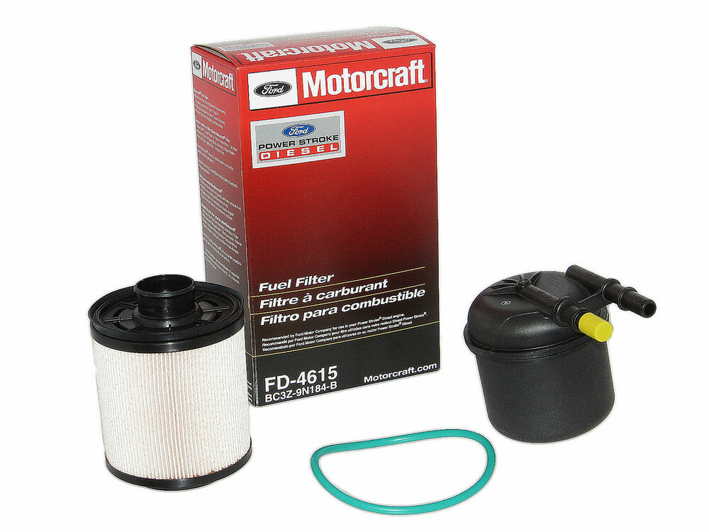 motorcraft fd4615 fuel filter 2011 2013 ford 6 7l v8. Black Bedroom Furniture Sets. Home Design Ideas