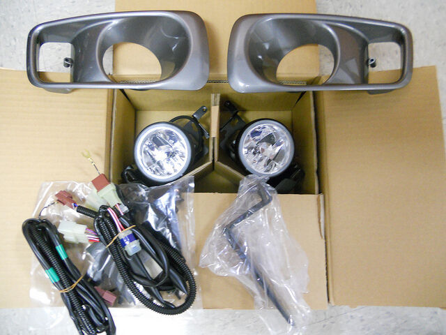 1999 2000 Genuine Honda Civic Raybrig Fog Light Lamp Kit