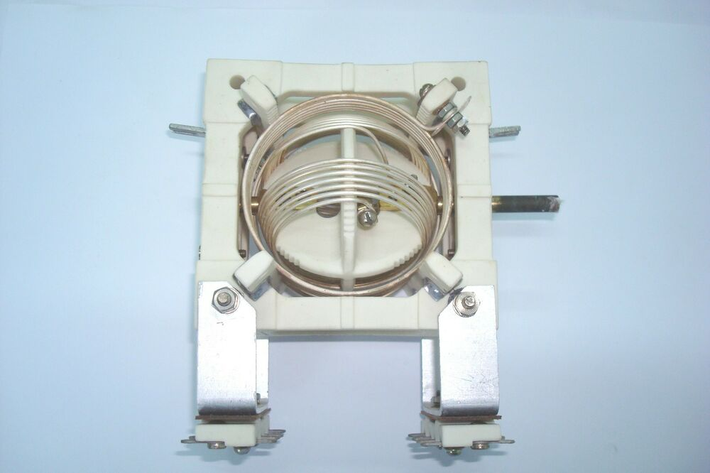 Inductor Coil Meter : Russian coil variable inductance variometer mhz nos in