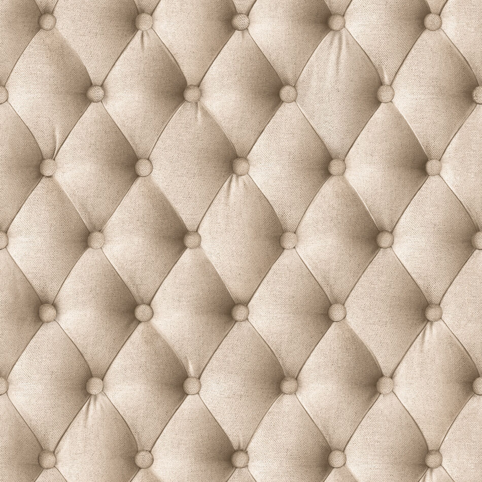 Chesterfield Faux Material Effect Textured Wallpaper