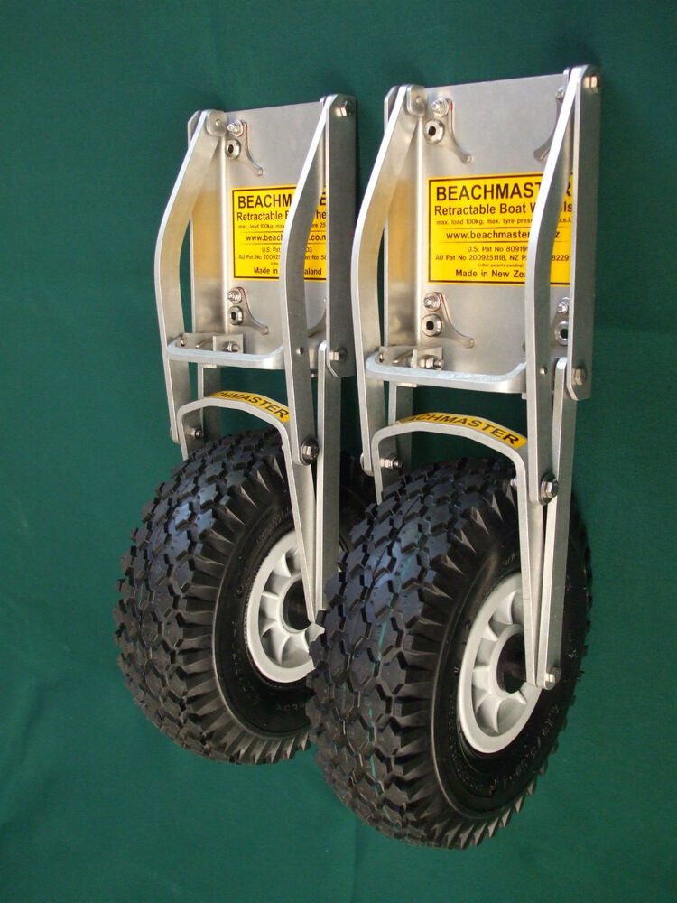 INFLATABLE BOAT / DINGHY LAUNCHING WHEELS - BEACHMASTER ...