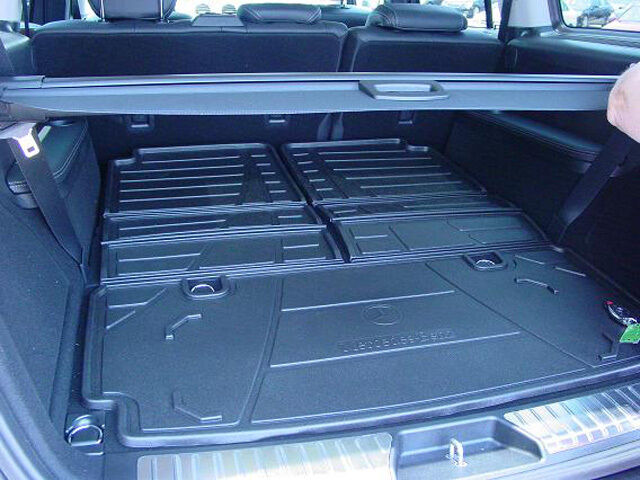 Oem genuine mercedes benz foldable trunk cargo area tray for Mercedes benz cargo net
