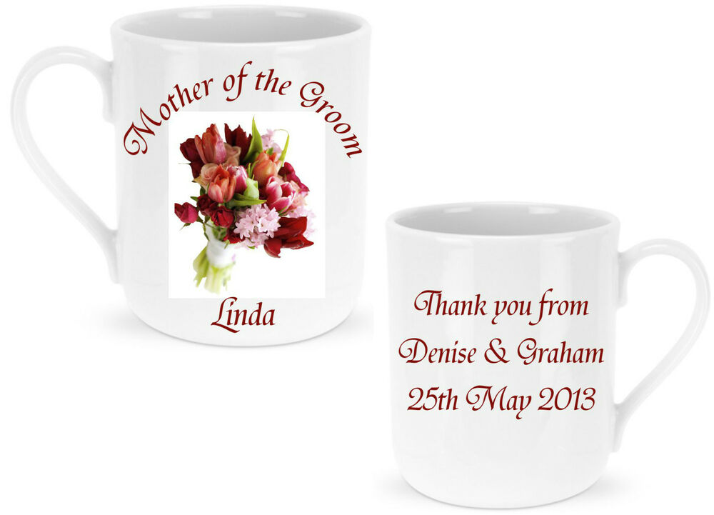 ... Mother of the Groom / Bride Mug - Ideal Wedding GIFT for Guests eBay