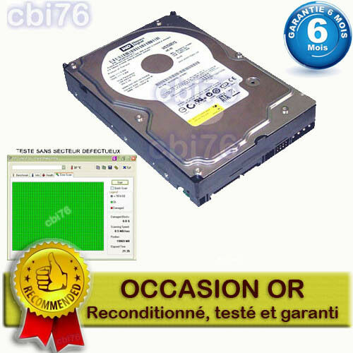 disque dur interne 3 5 sata 160 go western digital wd1600aajs 00psa0 r4r ebay. Black Bedroom Furniture Sets. Home Design Ideas