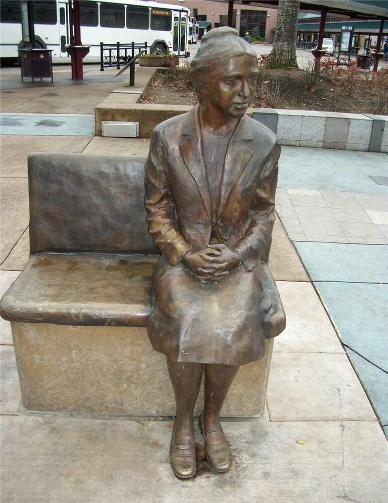 Rosa Parks Statue Glossy Poster Picture Photo Civil Rights