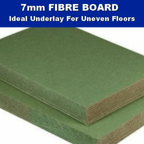 7mm Thick Fibre Board Underlay Laminate Engineered Wood