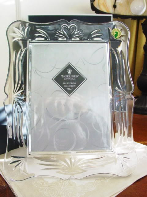 Waterford Crystal WEDDING 5 X 7 Photo Picture Frame