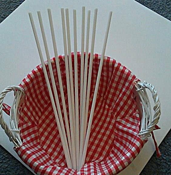 Cake Dowels For Tiered Cake Supports Wedding Cake Supports White