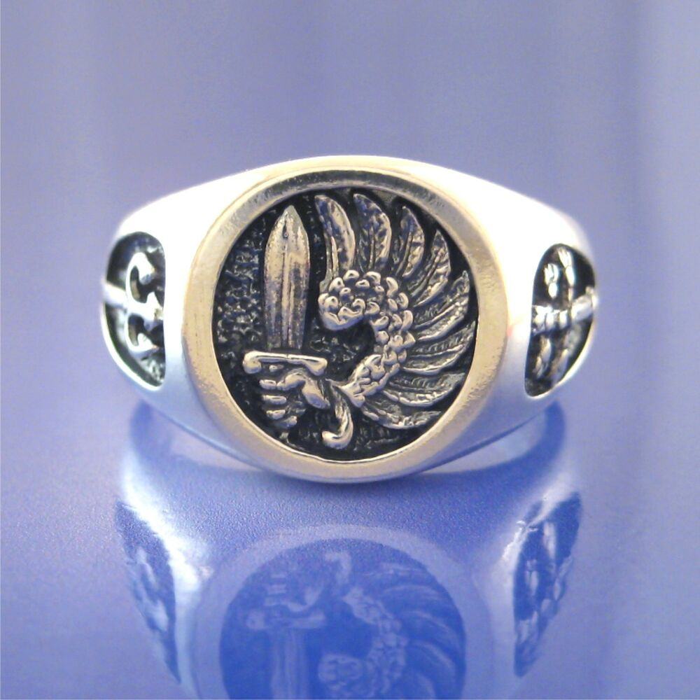 French Foreign Legion Soldier Of Fortune Mercenary Ring