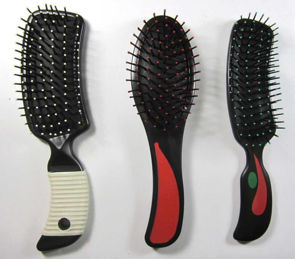 hair style brush cushion hair brushes hair styling tipped 8 quot ebay 3494