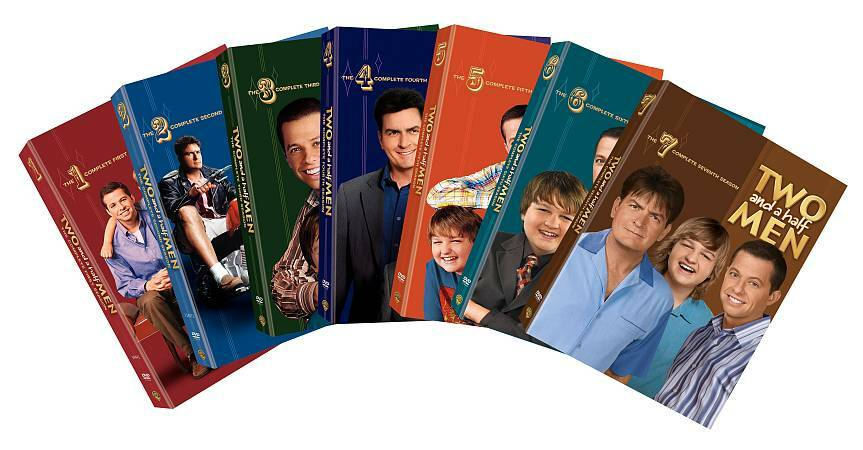 Two and a Half Men ~ Complete Season 1-7 (1 2 3 4 5 6 & 7 ...